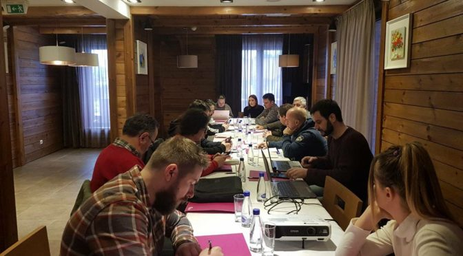 Capacity building trainings held in Kolasin